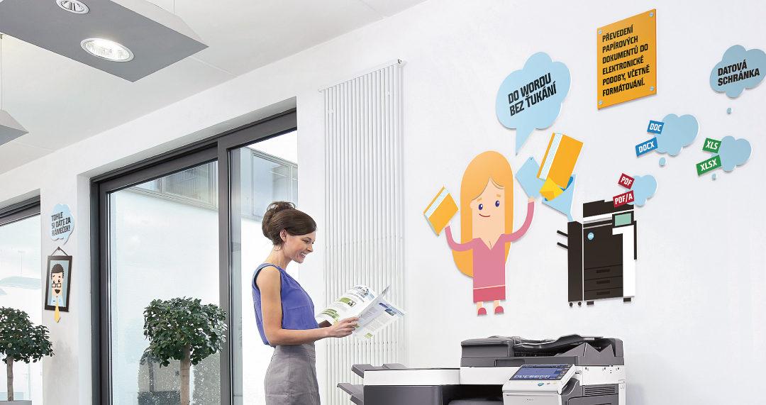 Wallmarketing pomáhá vyřešit akustiku v kancelářích