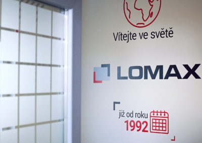 Wallmarketing školící centrum Lomax 02