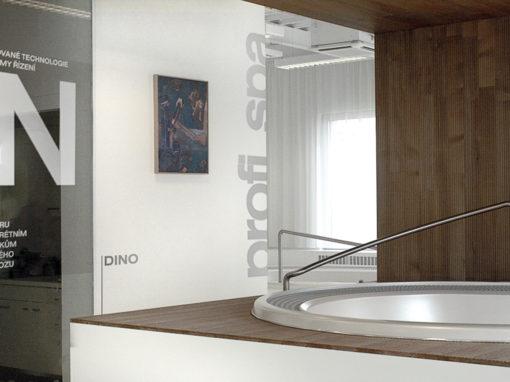 Showroom koupelnového vybavení USSPA