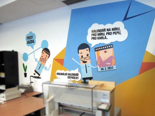 Branding showroomů Konica Minolta