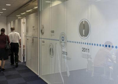 Wallmarketing vývojové centrum Konica Minolta 05