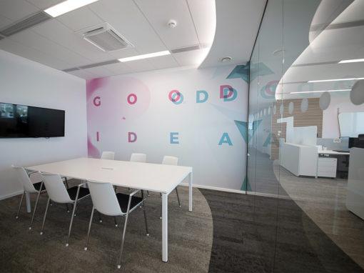 Nové kanceláře Notino