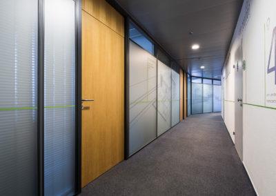 Wallmarketing v interiéru Schüco 04