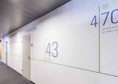 Wallmarketing v interiéru Schüco 10