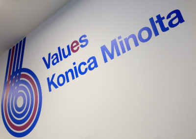 Konica Minolta - 6 values