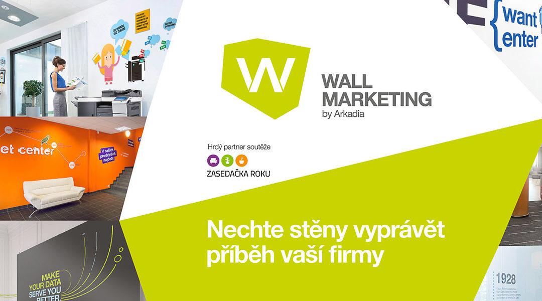 Wallmarketing partnerem soutěže Zasedačka roku