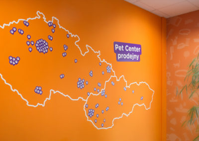 Wallmarketing Pet center 06