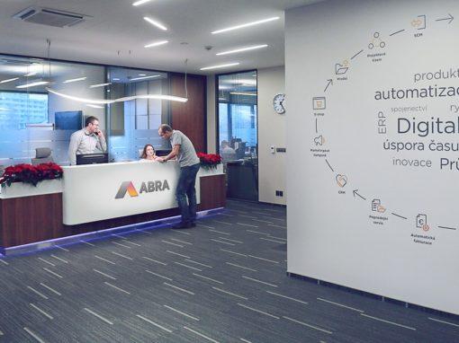Prezentace firemních hodnot ABRA