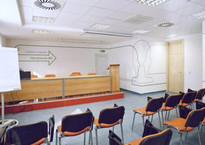 Wallmarketing - interiéry v RHK 10