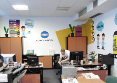 Wallmarketing showroomy Konica Minolta 03