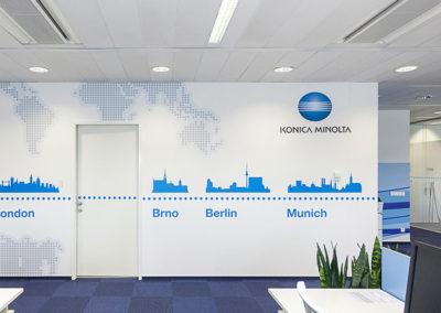 Wallmarketing vývojové centrum Konica Minolta 03