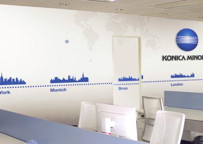 Wallmarketing vývojové centrum Konica Minolta 06