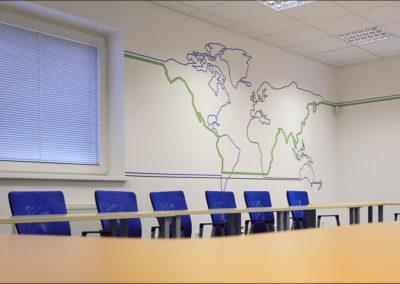 Wallmarketing - interiéry v RHK 09