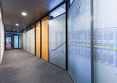 Wallmarketing v interiéru Schüco 05