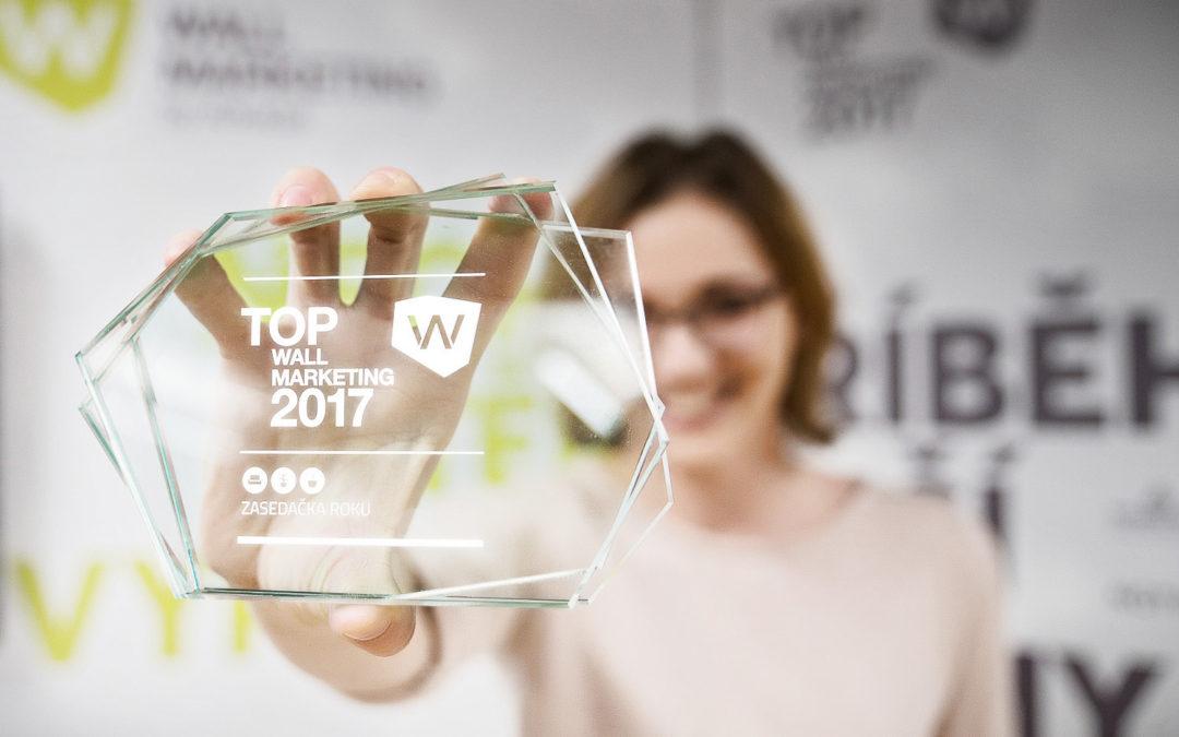 Ceny vítězům TOP WM v Zasedačce předány