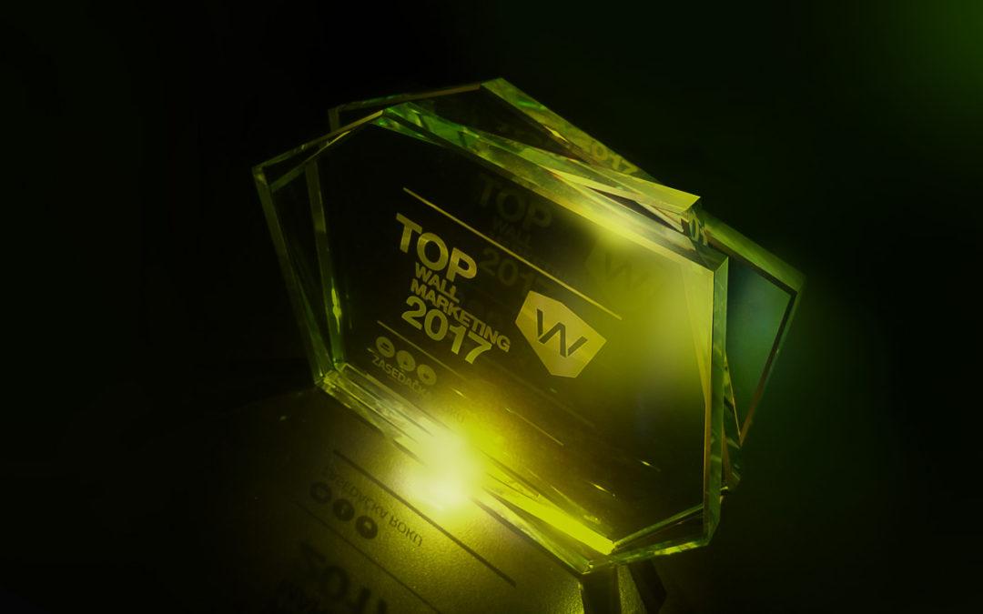 Výherci TOP Wallmarketing v Zasedačce roku