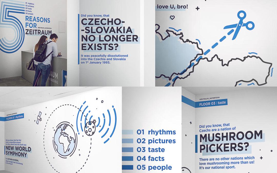 """""""Vítejte v České republice"""" –  Wallmarketing jako součást studentského bydlení"""